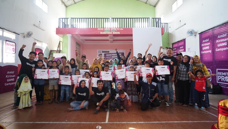 RemitPro Berikan Bantuan dalam Program Raih Prestasi Bersama RemitPro